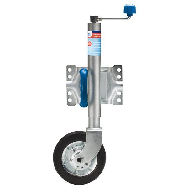 8 inch swinh up jockey wheel