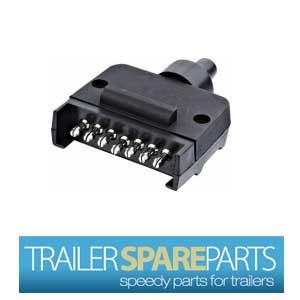 Plug 7 Pin Flat