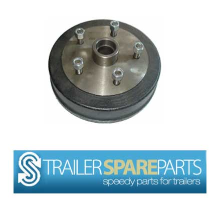 """TSPA-D-LC10-5LM   10"""" Electric 5 Stud Landcruiser Drum (LM Holde"""