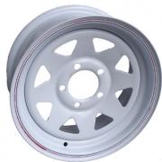 "TSPA-RS15X6L6-W Sunraysia Rim 15"" x 6.0 LC 6S White"