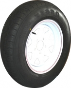 "TSPA-RTY-15-LC6W Rim & Tyre 15"" Sunraysia LC 6S White"