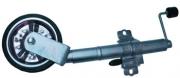 """TSPA-JW08C 8"""" Jockey Wheel w/ clamp Steel Wheel"""
