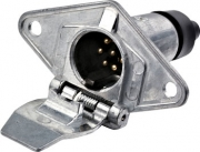 TSPA-PRS-MMET Plug 7 Pin Round Slim (Male)