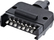 TSPA-PF-MALT2 Plug 7 Pin Flat T2 (Male)