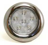 TSPA-INDOM-SS Round Interior Dome Light 6 LED 12v
