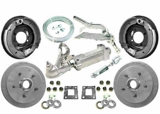 """TSPA-MODKIT 9"""" Mechanical Override Drum Brake Kit"""