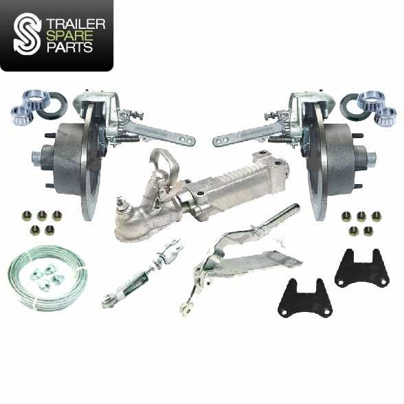 TSPA-MODISKKIT Mechanical Override Disc Brake Kit