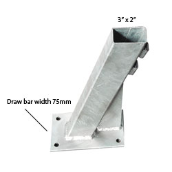 "91062 3"" x 2"" Winch Bottom suit 4.3m to 5.2m"