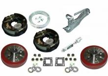 "TSPA-EBKIT-T  Tandem 10"" Electric Drum Brake Kit"
