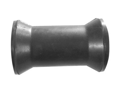 "91211 Keel Roller (4"") Black 100mm 17mm Bore"