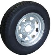 "TSPA-RTY-14-FG Rim & Tyre 14"" Sunraysia Ford G Galvanised"