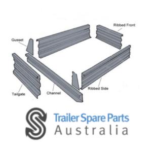 320mm High Panel Kits (ALL ZINC)