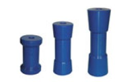 Blue Poly Hard Rollers