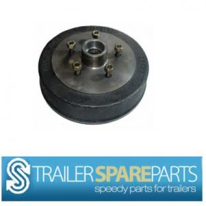 "TSPA-D-F10-LM  10"" Electric Drum, Ford Pattern  (LM Bearings)"