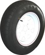 """TSPA-RTY-13-FW Rim & Tyre 13"""" Sunraysia Ford White"""