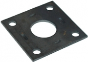 TSPA-MP39RE Mounting Plates st. 39 Round Axle (Electric Brake)