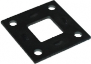 TSPA-MP40SE Mounting Plates st. 40 Square Axle(Electric Brake)