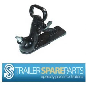 TSPA-C2HB 2000Kg  Two Hole Coupling Black