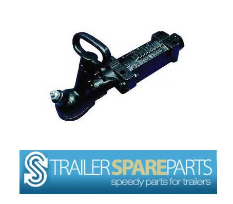 TSPA-CO1B 2000Kg Mechanical Over-ride Coupling Black