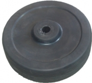 "TSPA-WS06 Jockey (Wheel Only) 6"" Solid Rubber"