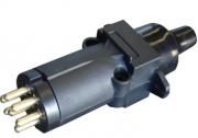 TSPA-PRS-MAL Plug 7 Pin Round Slim (Male)