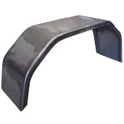 "TSPA-MG10S4B Mudguard 10"" Single 4 Fold Black"