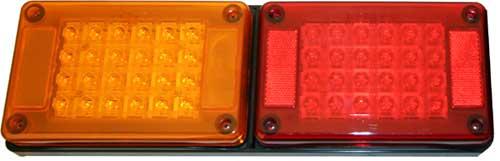 TSPA-TL-JD-AR Tailight Truck Jmbo LED Double (10-30V)