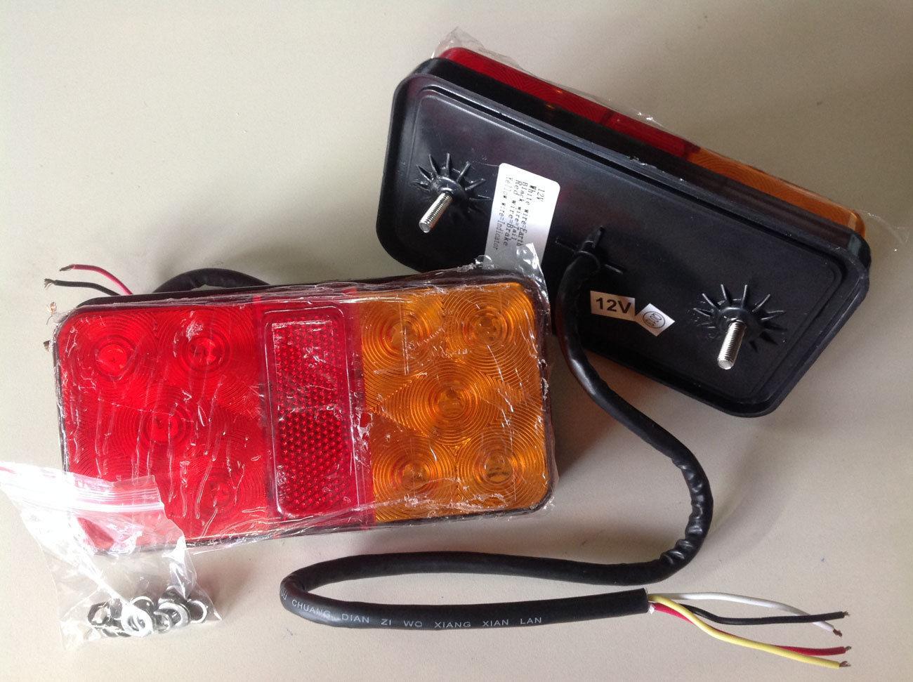 TSPA-TL80X150-2 Tailight LED Rectangle (12V)