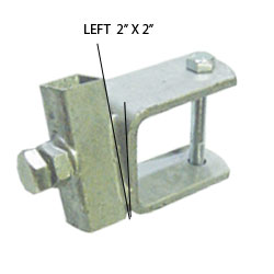 """92151L = 2"""" x 2"""" Tube Side Adjuster Left"""