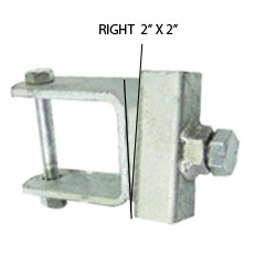 "92151R = 2"" x 2"" Tube Side Adjuster Right"
