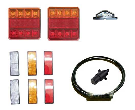 LKIT-S  Single Axle Light Kit