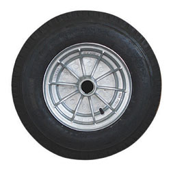"92745 10"" Alloy HT Integral Wheel Assembly 500 x 10"