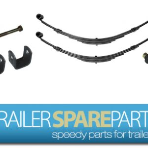 TSPA-S7EE45KIT 1500Kg Single Axle Shackle Spring 7LF