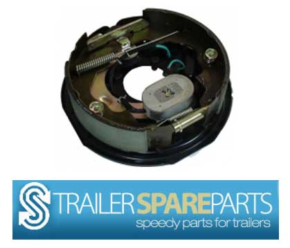 "TSPA-EBKH10 10"" Electric Backing Plate + Park Brake (each)"