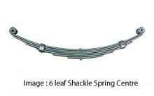 92334  4 LF Shackle Spring Galvanized 710mm x 45mm x 8mm