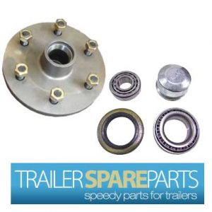 TSPA-HBLC6-LM 6 Stud LandCruiser Hub With Holden Bearings