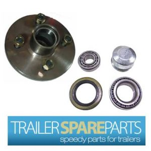TSPA-HBGEM  Gemini/BMW Lazy Hub 4 Stud With Holden Bearings (LM)