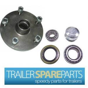 TSPA-HBLC5-LM 5 Stud Landcruiser Hub With Holden Bearings (LM)