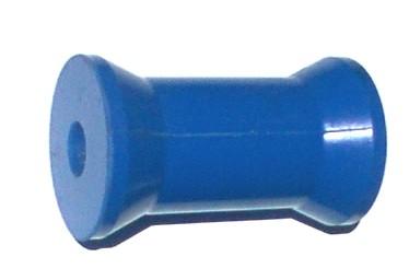 """91311Boat Rollers 4"""" BLUE KEEL ROLLER"""