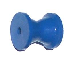 """91310  Boat Rollers 3"""" BLUE KEEL ROLLER - 5/8"""" ID"""