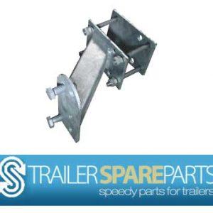 JS-SWB Universal Galvanized Spare Wheel Bracket