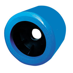 "91112 4"" Smooth Blue Wobble 20mm bore size"